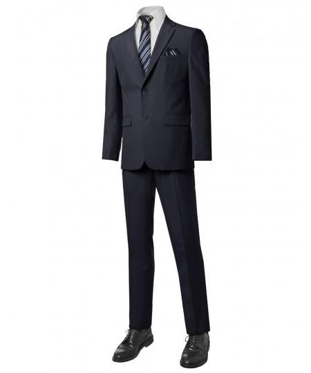 Men's Classic Regular Fit 2Pcs Suit Blazer & Dress Pants