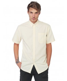 Men's Basic Short Sleeve Button Up Shirt