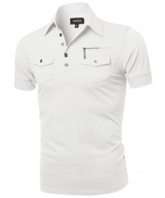 Men's Contemporary Polo Shirt
