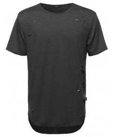 Men's Distressed Tee Shirt