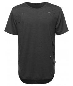 Men's Distressed Tee Shirt