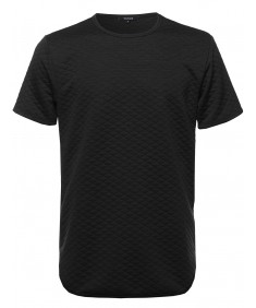 Men's Padded Short Sleeve Tee Shirt