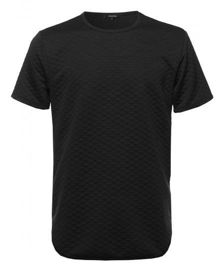Men's Padded Short Sleeve Tee Shirt