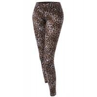 Women's Leopard Color Printed Leggings