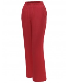 Women's Palazzo Full Length Wide Pants