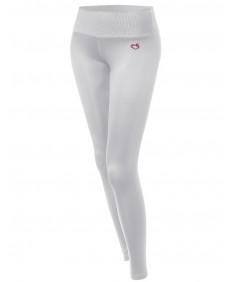 Women's Full Length Basic Solid Yoga Pants
