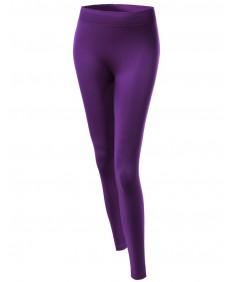 Women's Seamless Fur Lining Free Size Yoga Pants