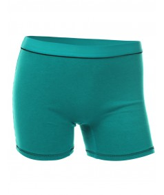 Women's Basic Solid Color Sporty  Workout Shorts
