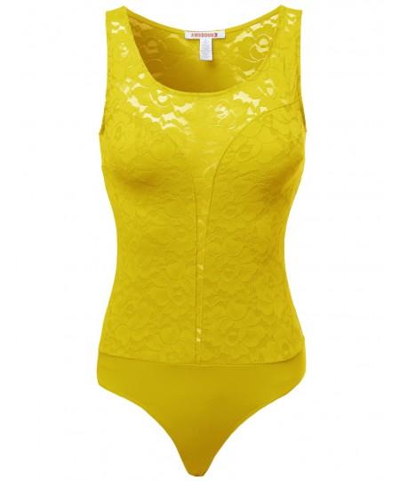 Women's Lace Sexy Lingerie Bodysuits