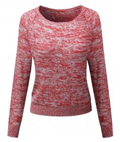 Women's Casual Dolmasn Sleeve Urban Style Sweater