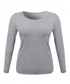 Women's Basic Casual Round Neckline Plus Size Tee Top W Various Colors