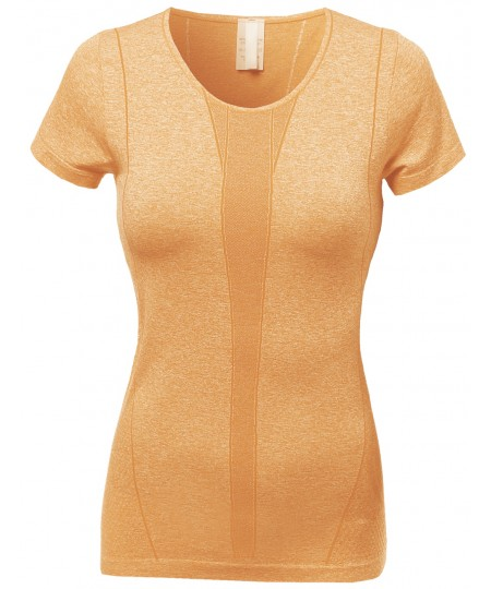 Women's Round Neck Short Sleeve Cycling Tops
