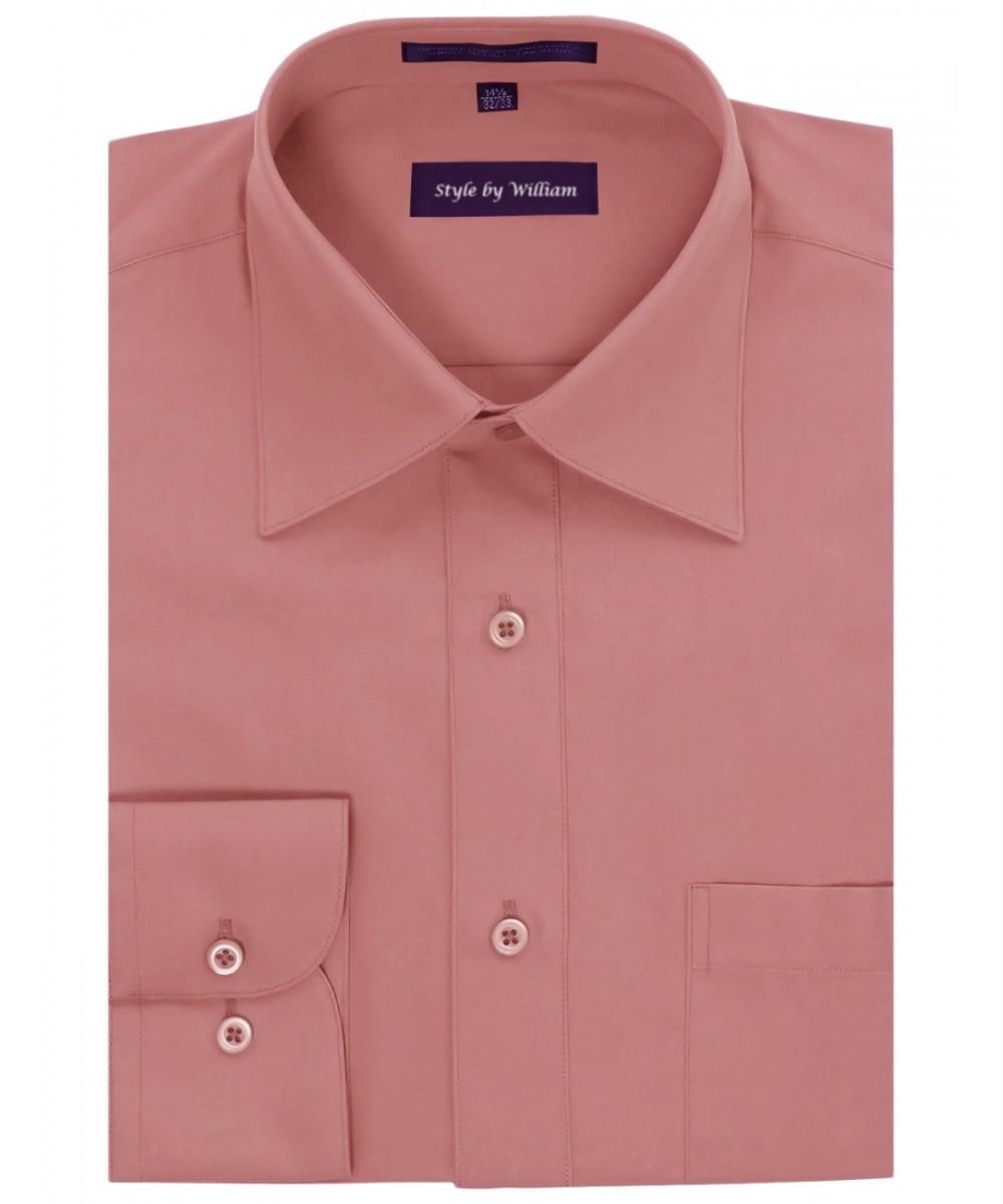 Men 39 s men 39 s regular fit dress shirt for Regular fit dress shirt