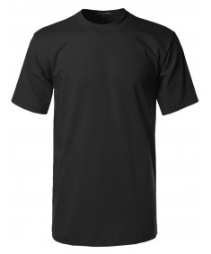 Men's Basic Men's Short Sleeves Heavy T-shirt