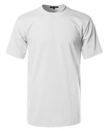 Men's Basic Men's Short Sleeves Heavy T-shirt