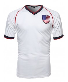 Men's Usa Soccer Jersey Shirt