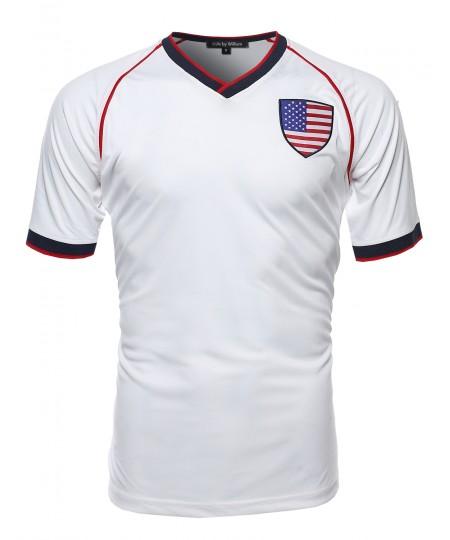 Men's Usa Soccer Jersey Shirt