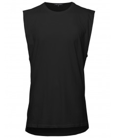 Men's Sleeveless Cut Off Tank Top
