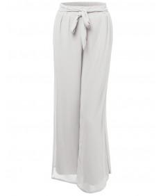 Women's Classic High Waisted Adjustable Waist Summer Palazzo Pants