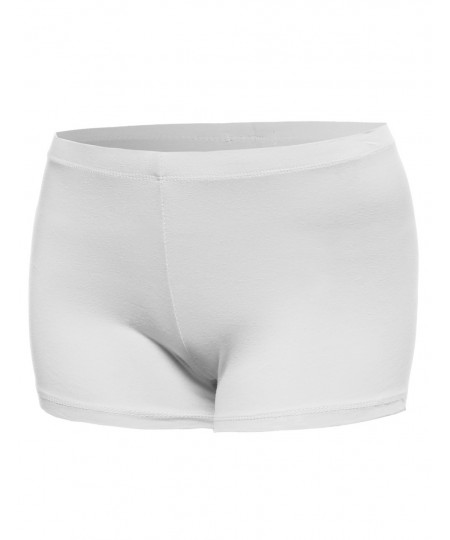Women's Classic and Basic Essential Soft Legging Under Shorts