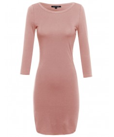 Women's Everyday Lounging Fitted Dress