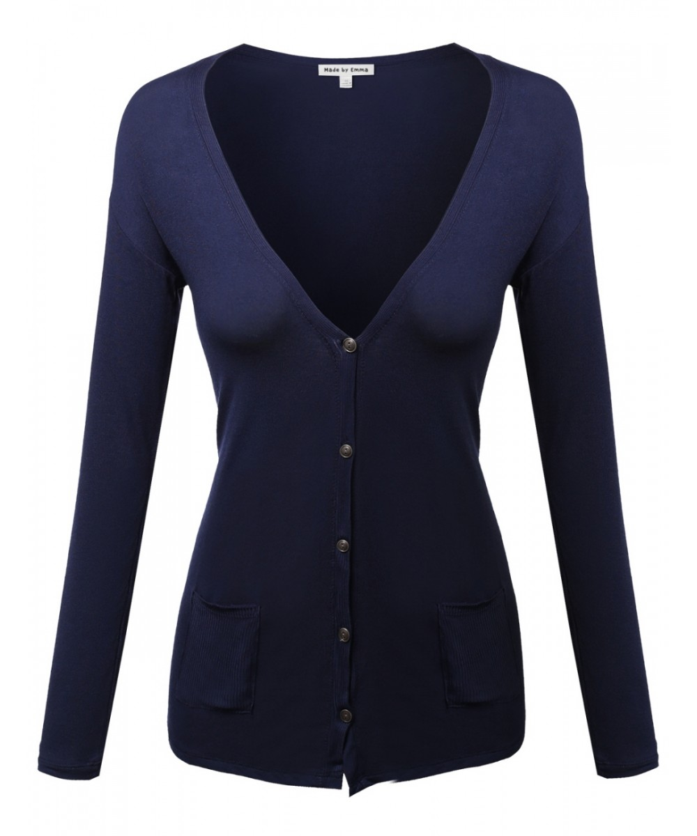 Women's Lightweight Cardigan With Various Colors - FashionOutfit.com