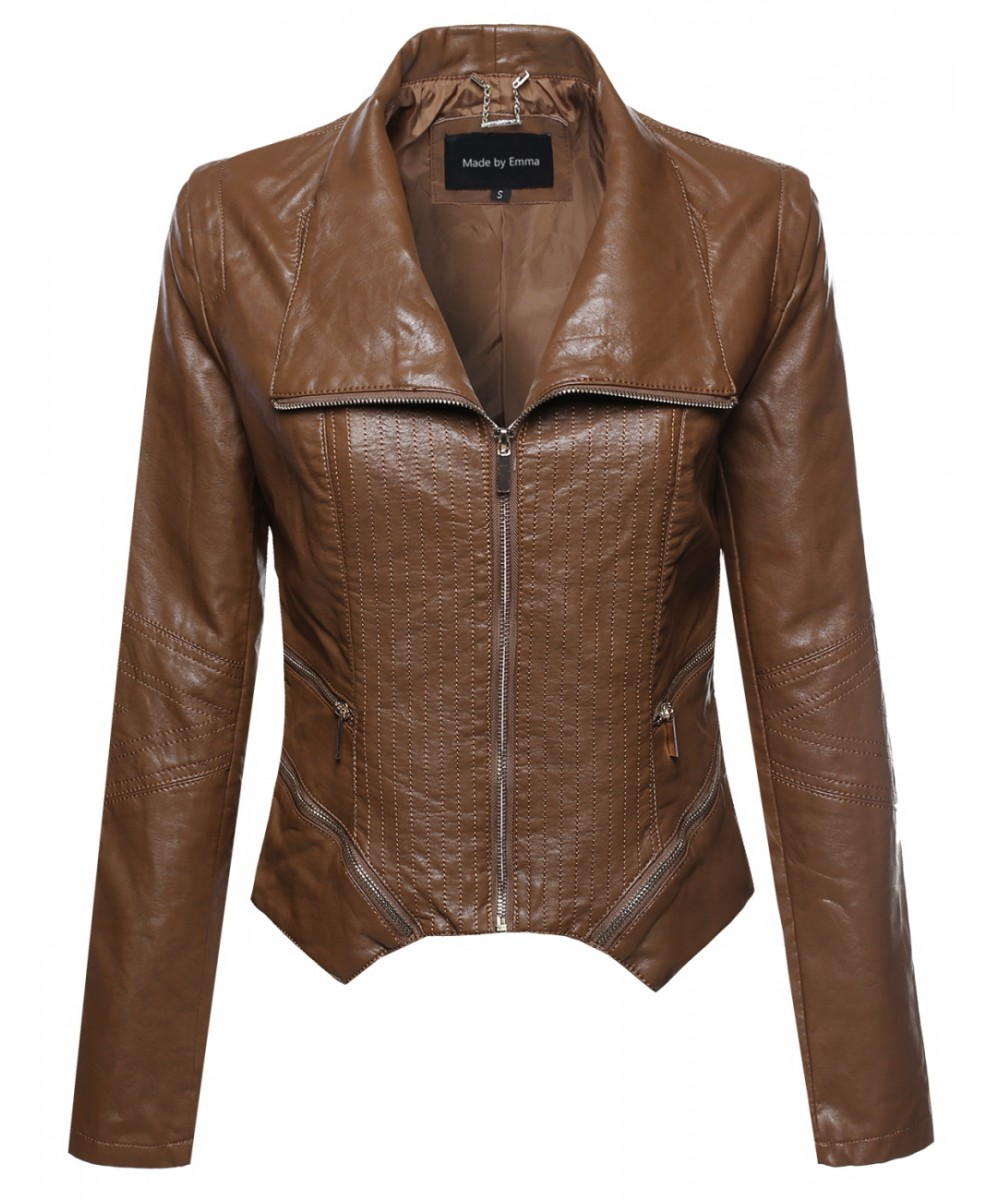 Leather jacket bike
