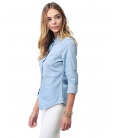 Women's Basic & Classic Denim Chambray