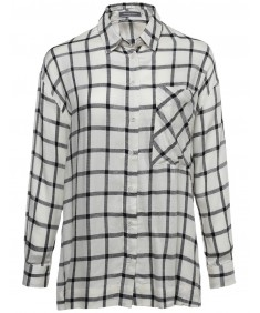 Women's Classic Oversized Plaid Button Up Shirt