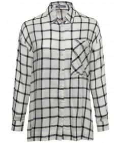 Women's Classic Oversized Plaid Button Up Shirt