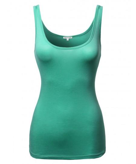 Women's A Lightweight Basic Soft Blend Tank Top