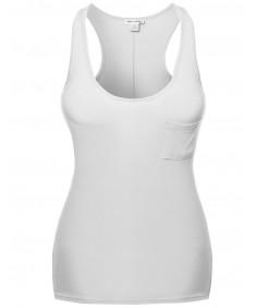 Women's Super Strech Soft Cotton Spandex Sleeveless Tank Tops