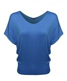 Women's Boat Neck Dolman Top