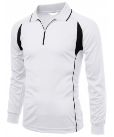 Men's Coolon Fabric Sporty Lusurious Long Sleeve T Shirt
