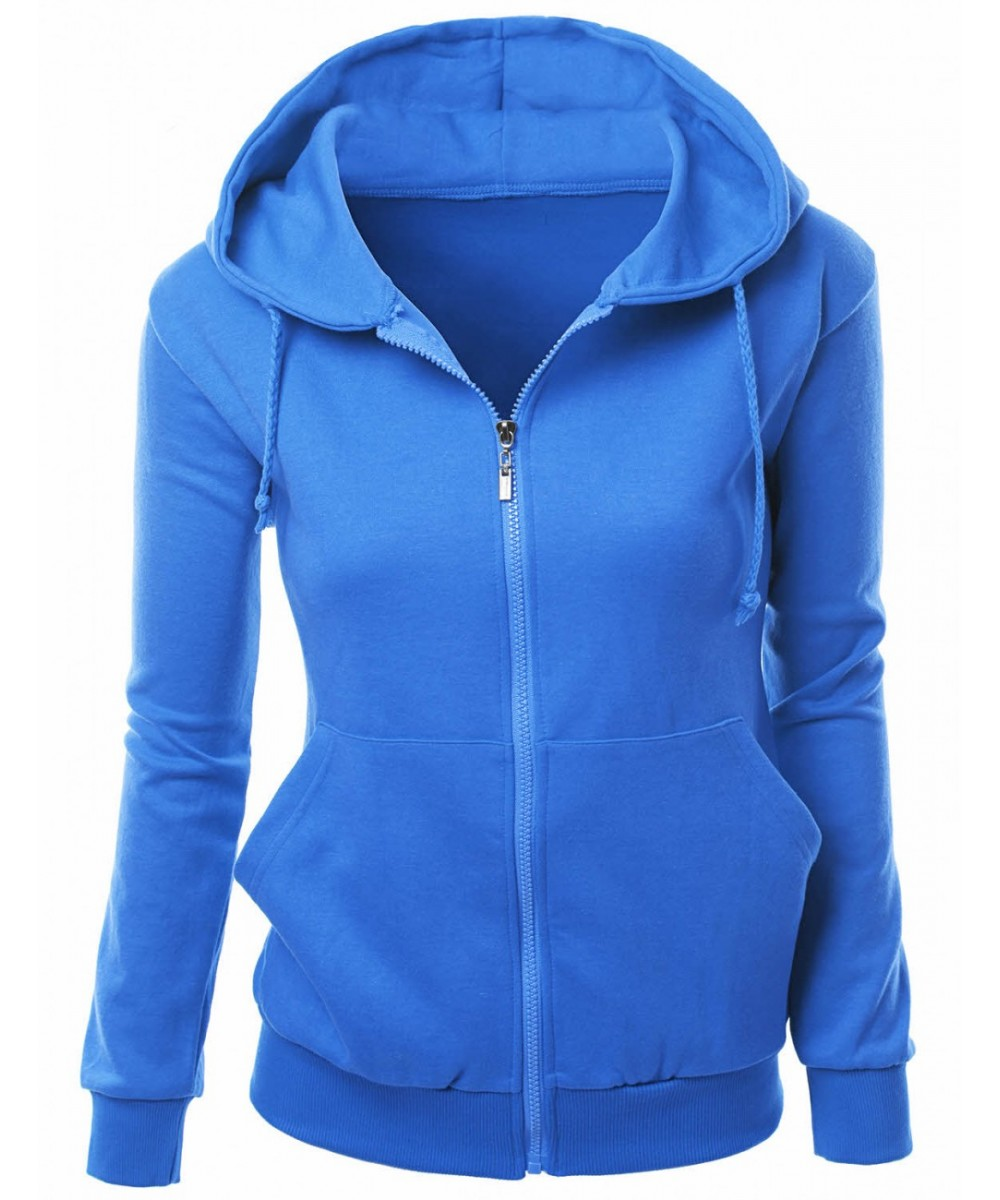 Hoodie with side zipper