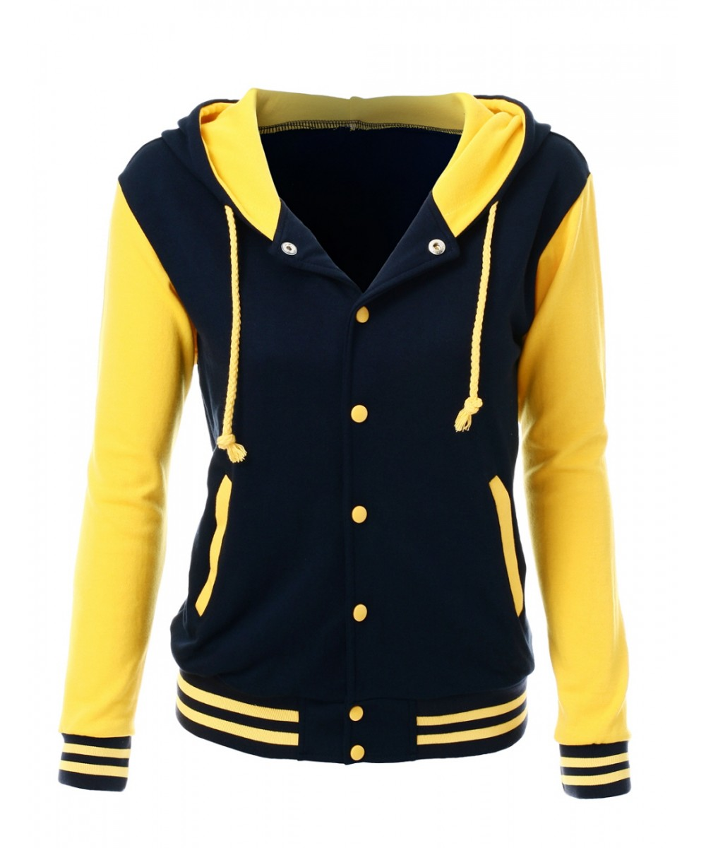 Stylish High Quality Fabric Hoodie Baseball Jacket Overcoat ...