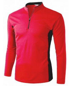 Men's Coolon 2 Tone China Long Sleeve T Shirts