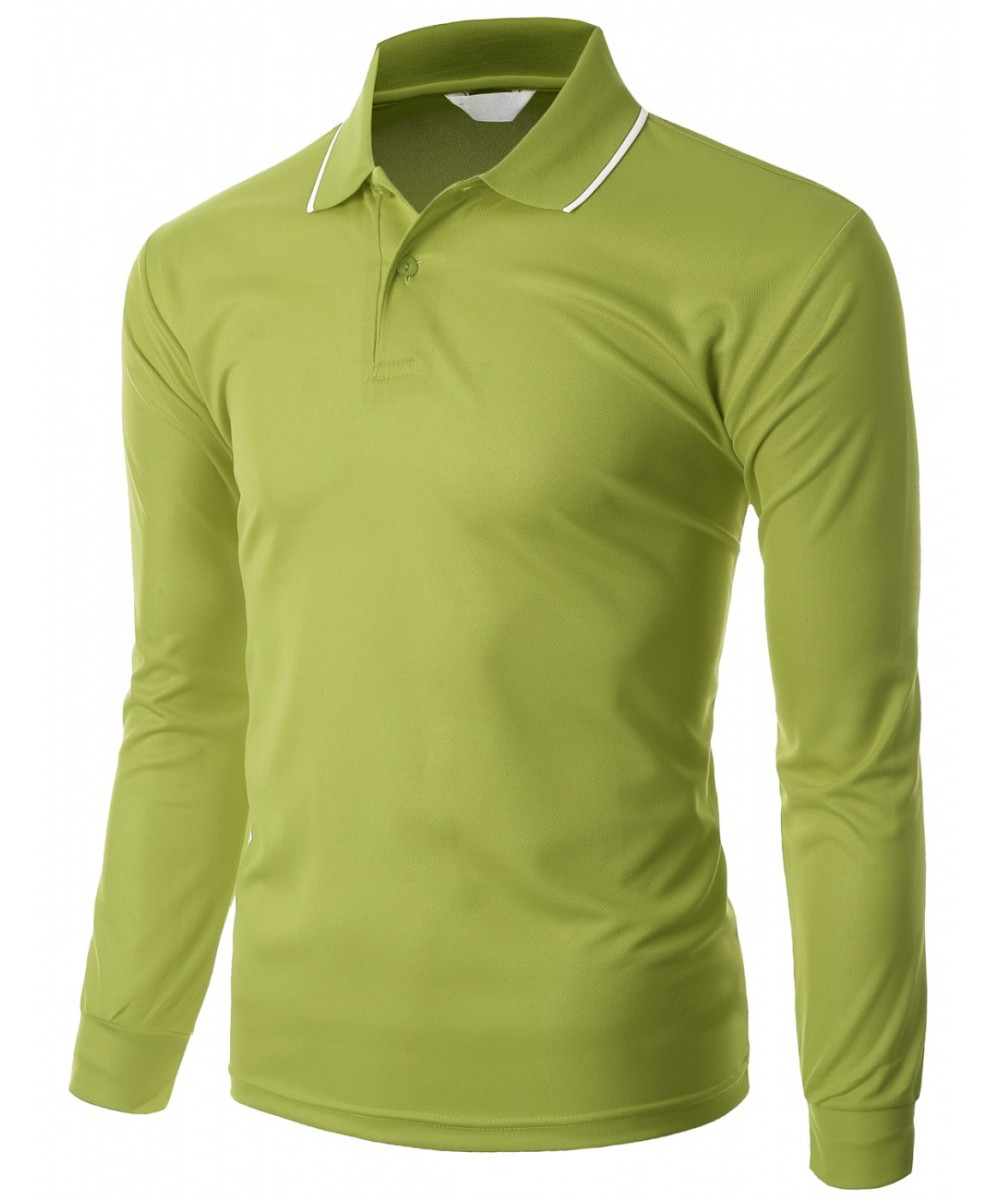 Functional coolmax collar long sleeve t shirt for Long sleeve t shirts with collar