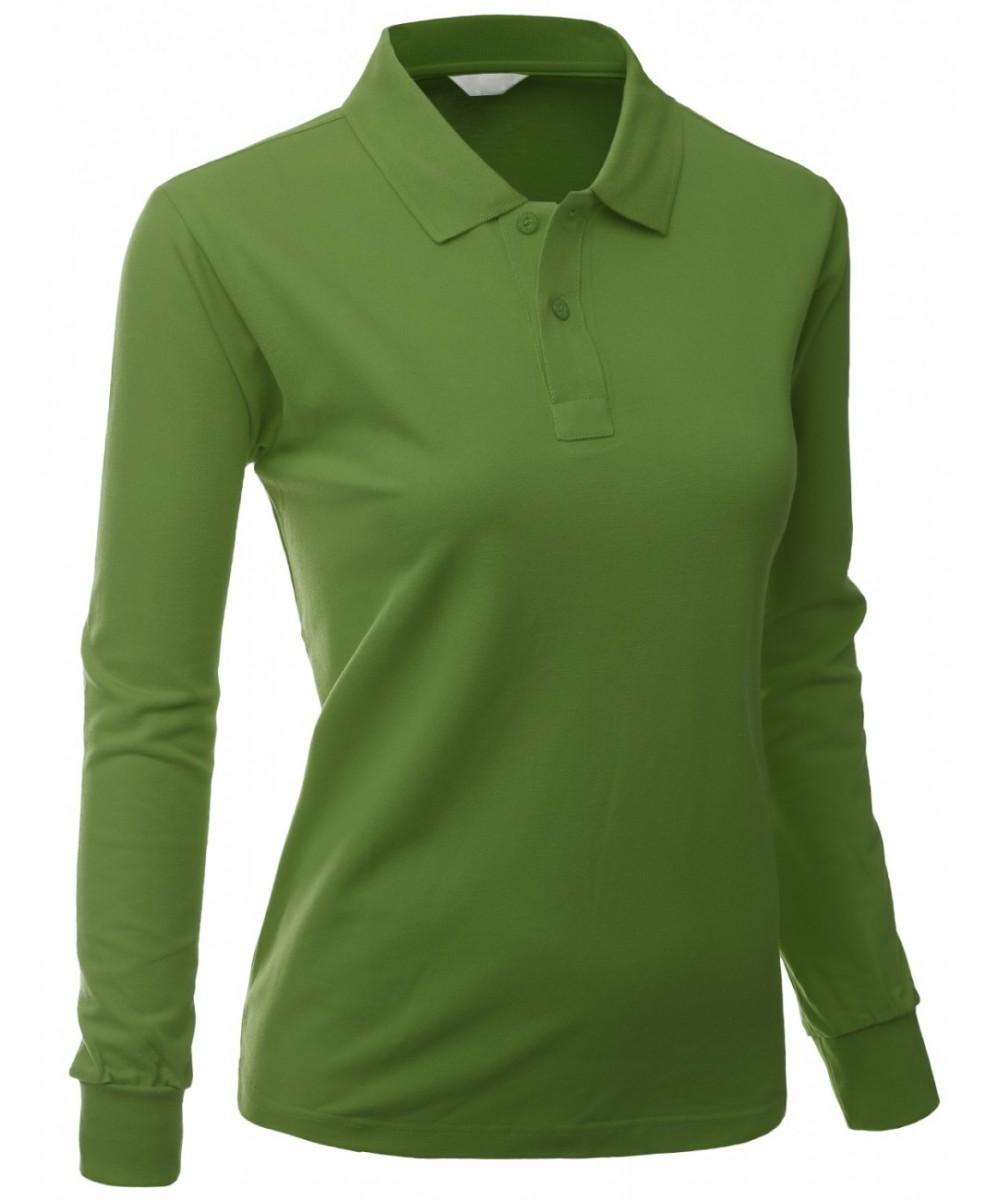 Cotton pk silket polo dri fit long sleeve collar t shirt for Dri fit material shirts