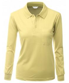 Women's Pique 180-200 Tc Polo Dri Fit Collar T-Shirts