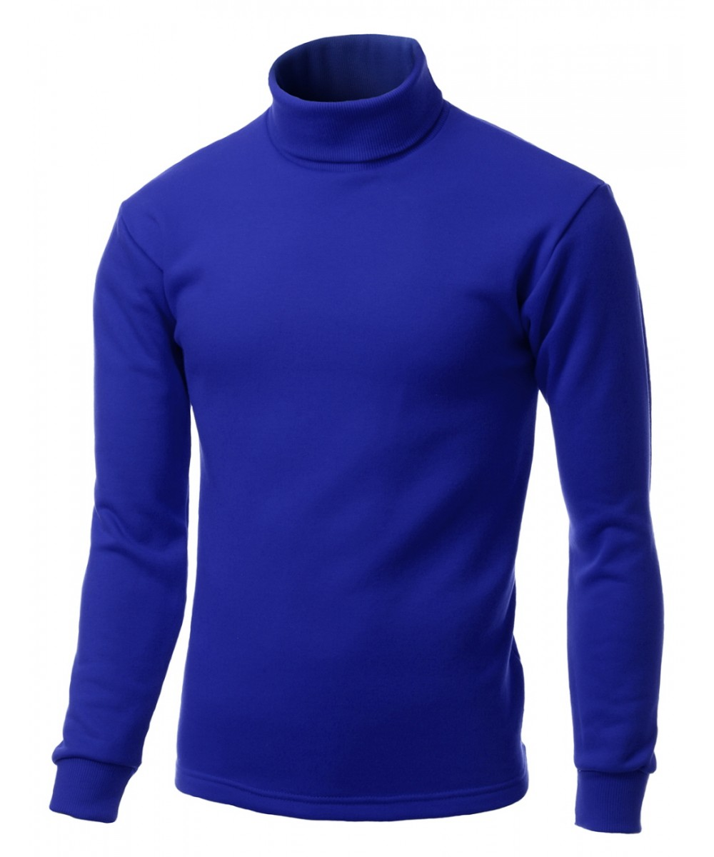Men double long sleeve layer turtleneck t shirt for Turtleneck under t shirt