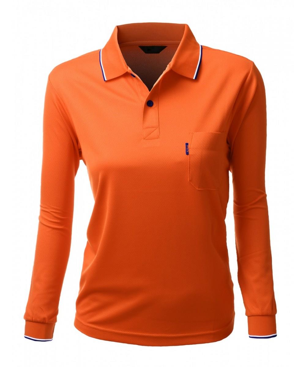 Basic collar polo long sleeve pocket point t shirt for Long sleeve t shirts with collar
