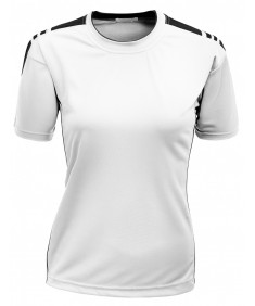 Women's Casual Basic Coolmax Round Neck Short Sleeve T Shirt