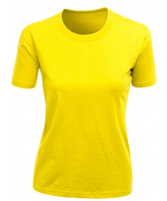 Women's Coma 90-100 Tc Round Short Sleeve T-Shirt