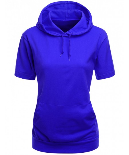 Women's High Quality Cotton Zip Up Hoodie T-Shirt