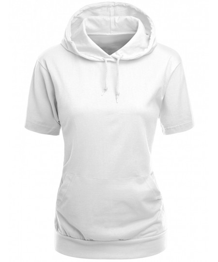 Women's High Quality Cotton Zip Up Hoodie T-Shirt