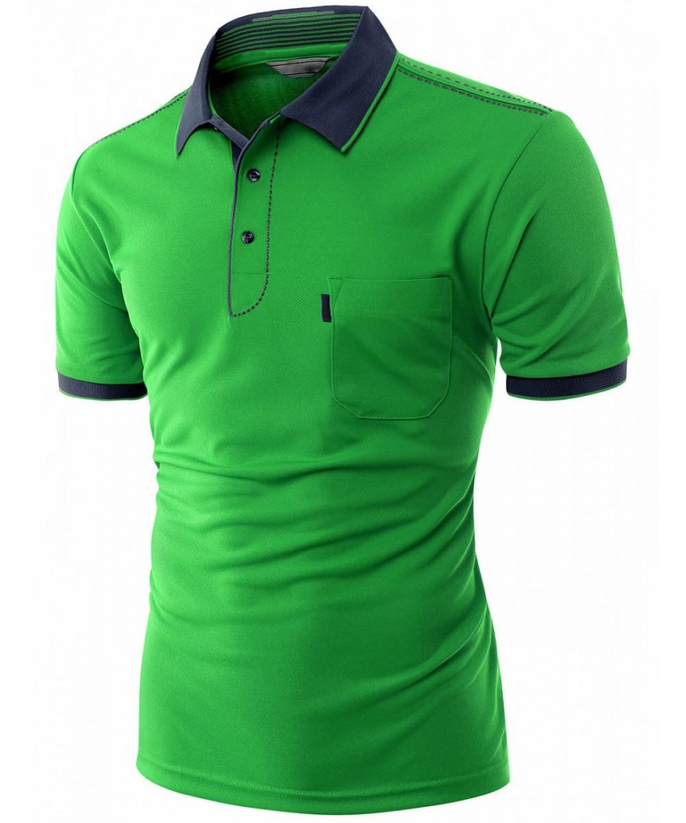 77cb720c806 High Quality Cotton Collar T-Shirt - FashionOutfit.com